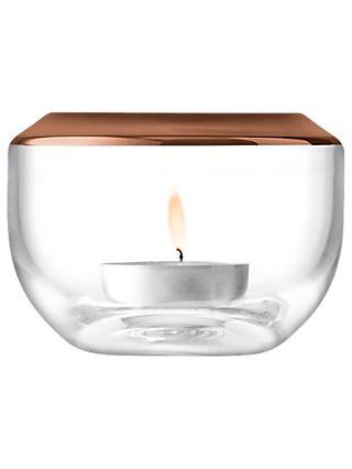 Lsa International E Tealight Holder Copper