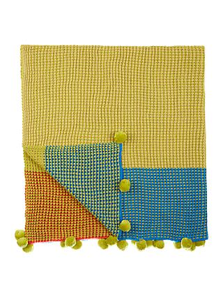 little home at John Lewis Camping Cotton Throw, Multi