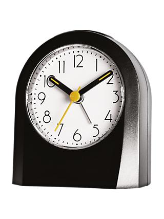 House by John Lewis Alarm Clock, Black