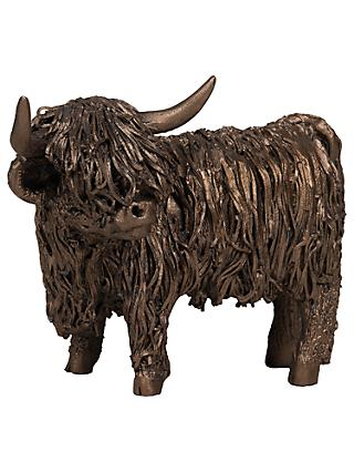 Frith Sculpture Highland Cattle by Veronica Ballan, Bronze