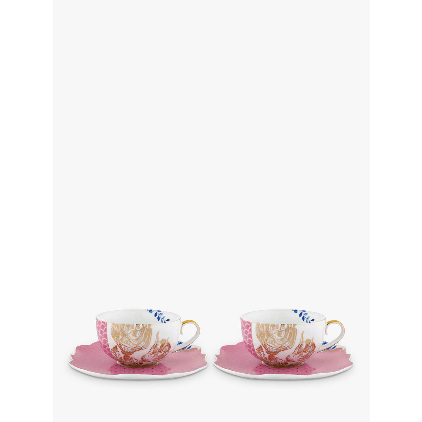 Pip Studio Royal Cup And Saucer Multi 225ml Set Of 2 Online