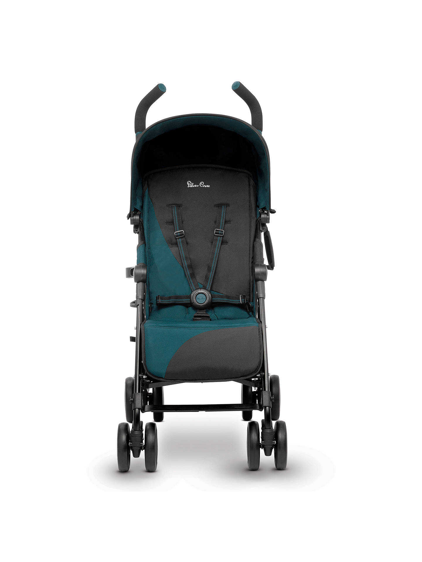 BuySilver Cross Pop Stroller, Teal Online at johnlewis.com