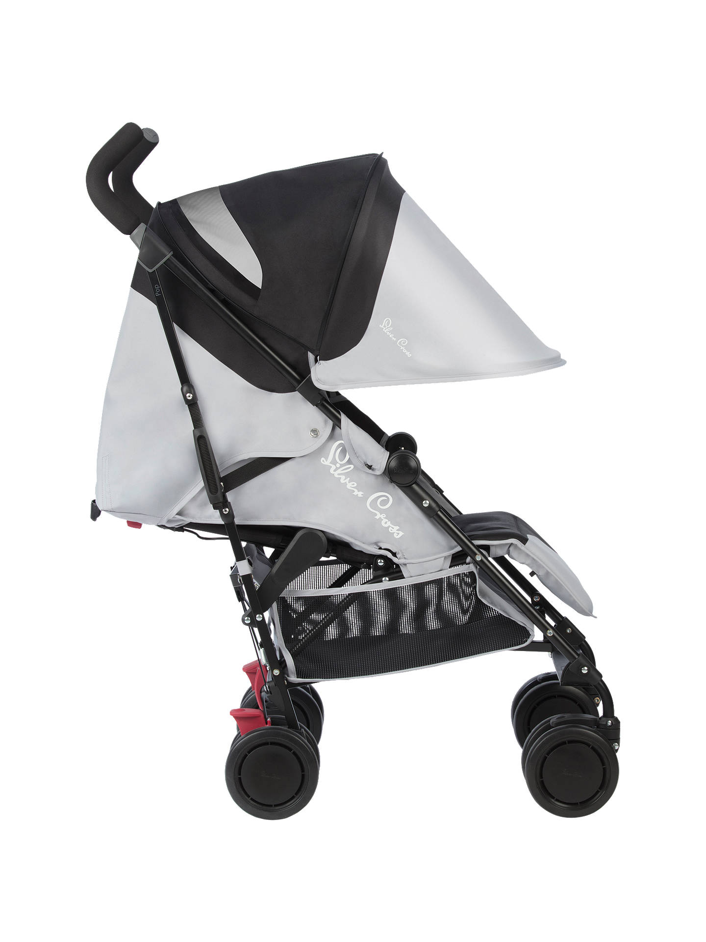 Buy Silver Cross Pop Stroller, Silver Online at johnlewis.com