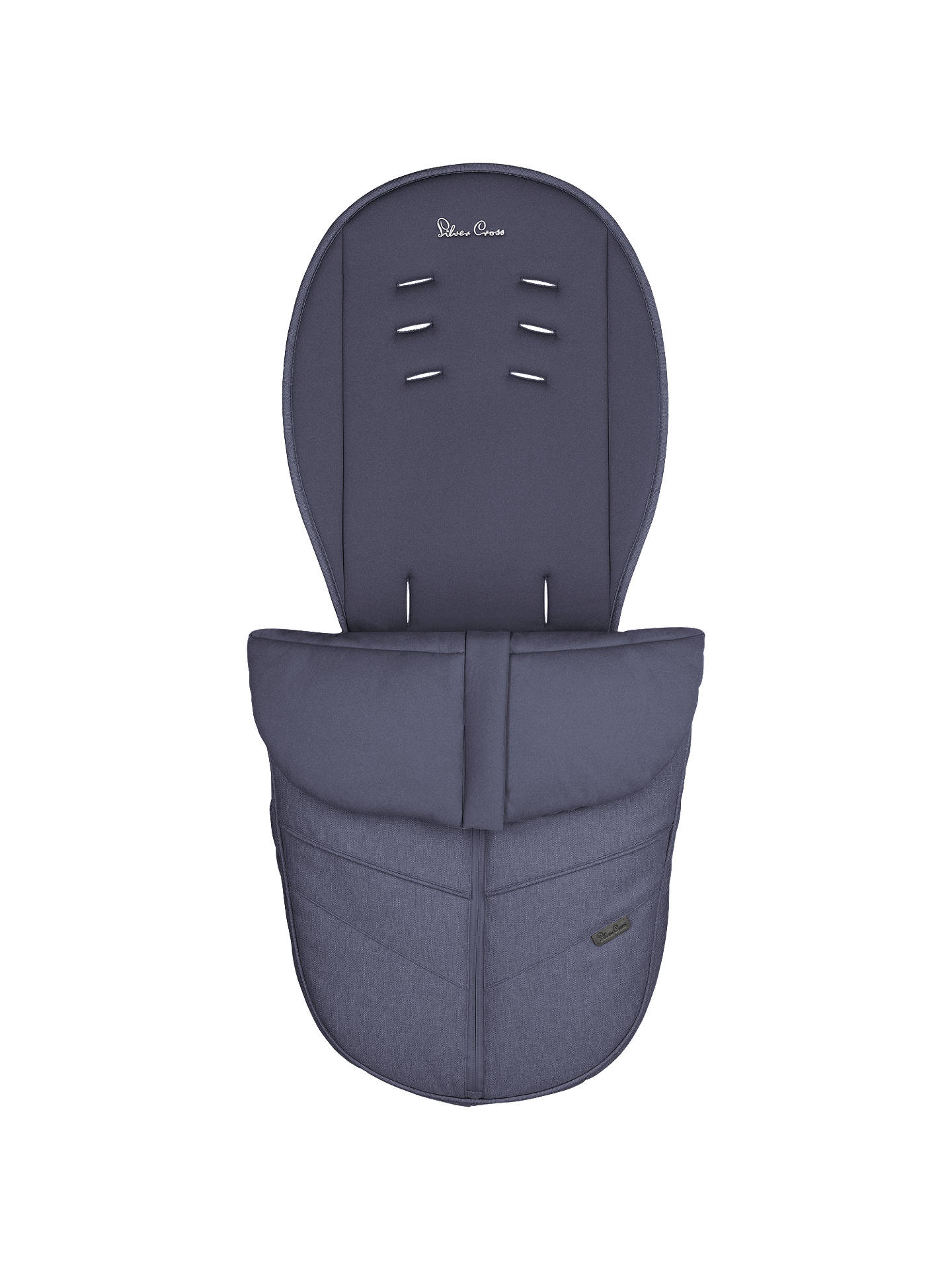 BuySilver Cross Wayfarer/Pioneer Footmuff, Midnlight Blue Online at johnlewis.com