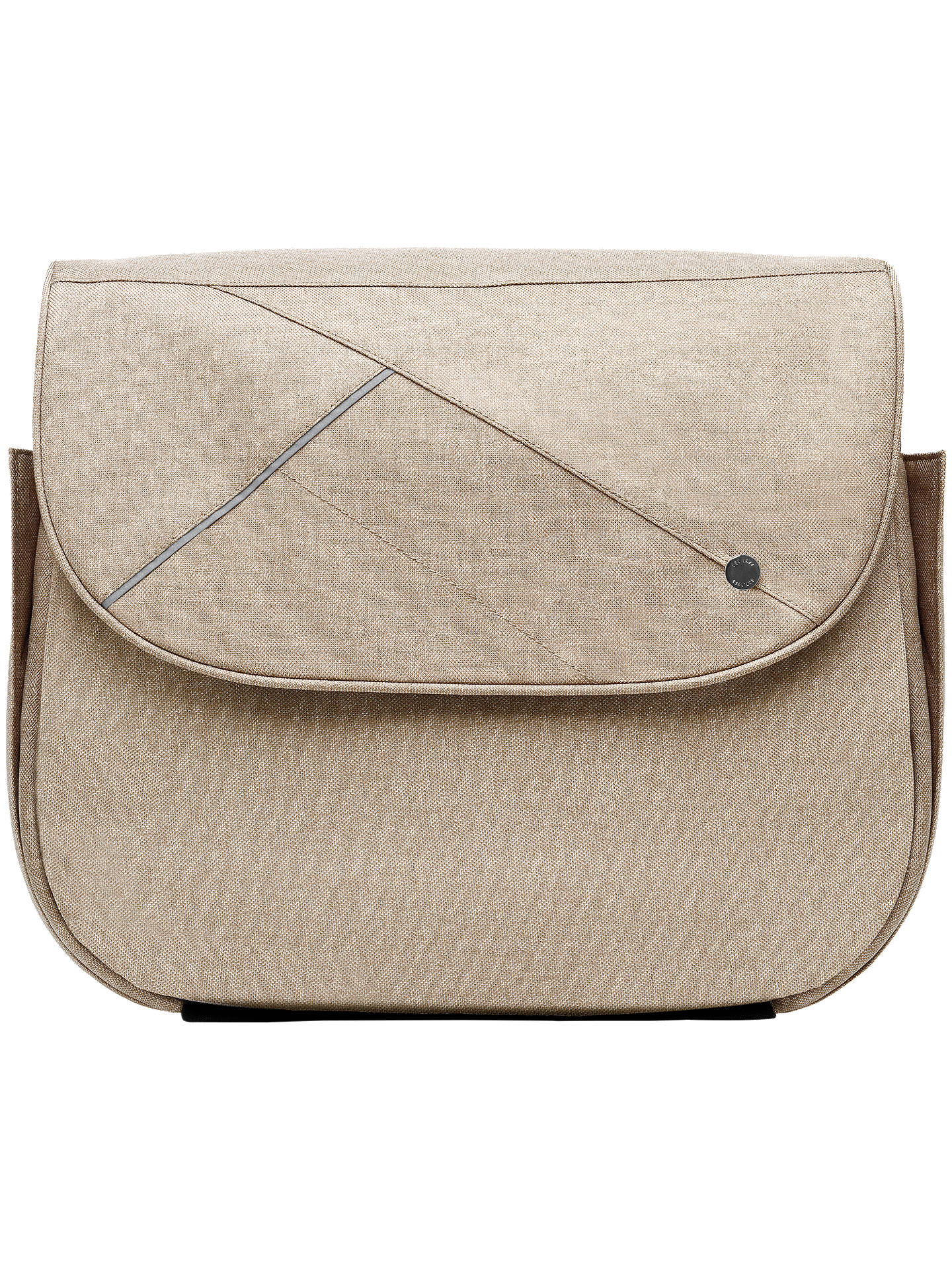 BuySilver Cross Changing Bag, Linen Online at johnlewis.com