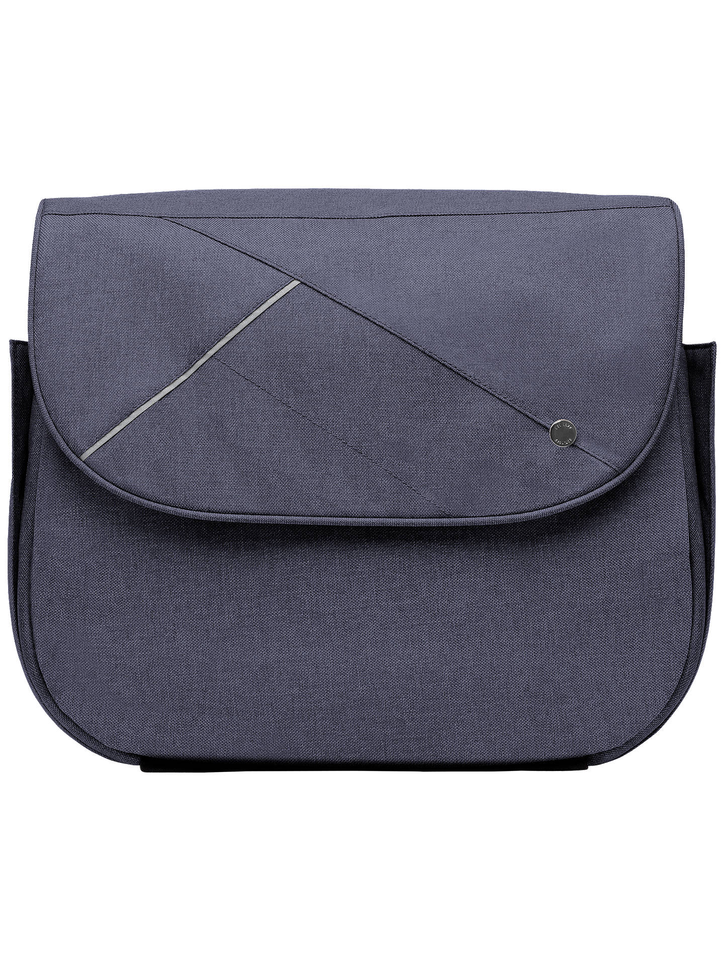 Buy Silver Cross Cross Body Changing Bag, Midnight Blue Online at johnlewis.com