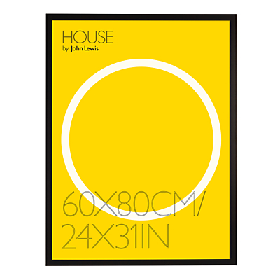 Image of House by John Lewis Box Poster Frame, 24 x 31 (60 x 80cm)