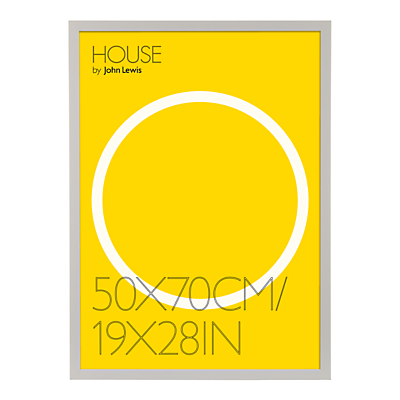 Image of House by John Lewis Box Poster Frame, 19 x 28 (50 x 70cm)