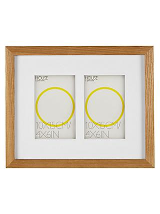 Double Photo Frames | John Lewis & Partners