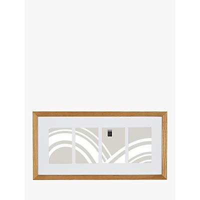 Image of House by John Lewis Photo Frame & Mount, 4 Photo, 4 x 6 (10 x 15cm), FSC-Certified (Oak)