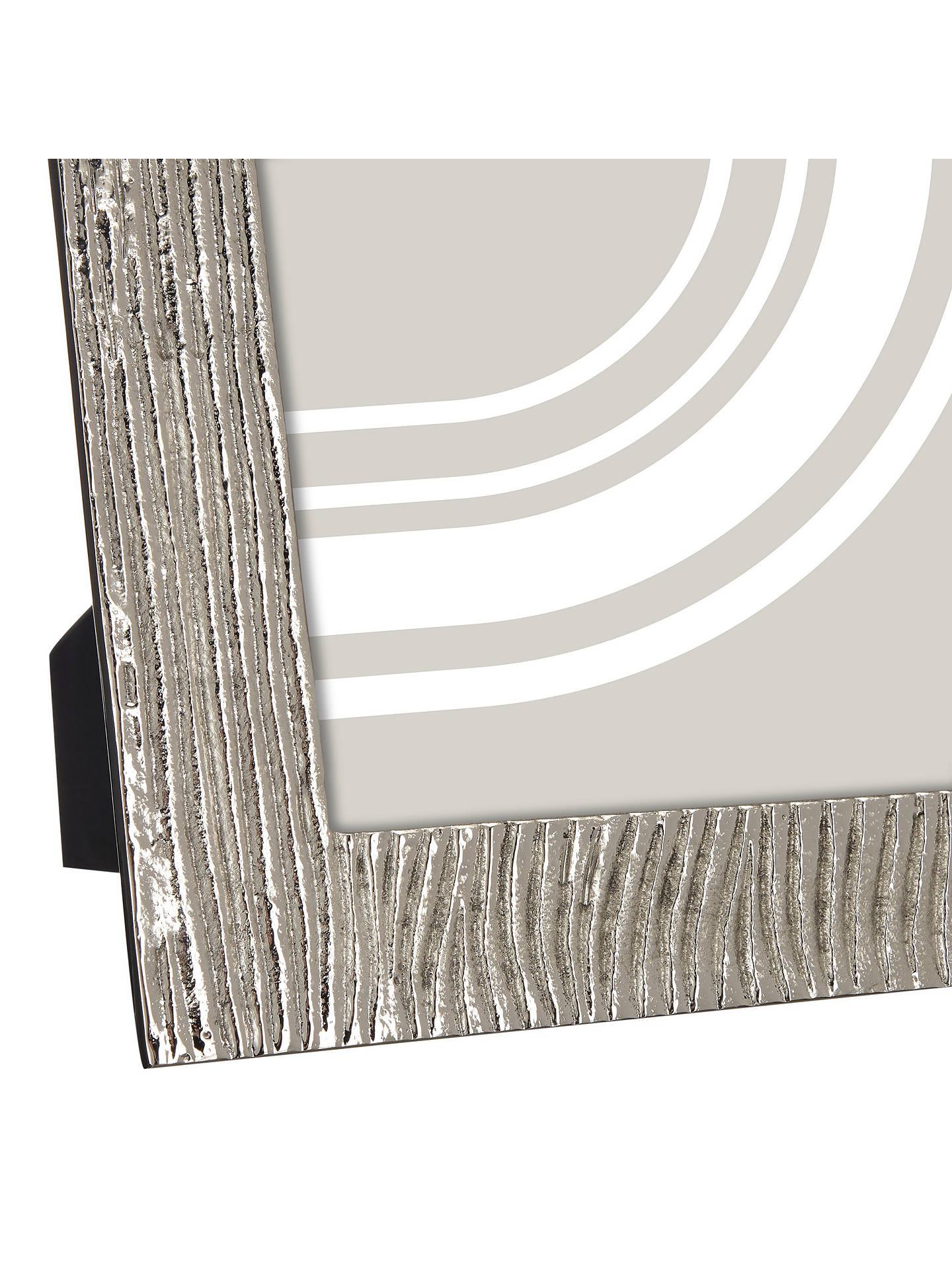 37611a49c4e ... Buy John Lewis   Partners Wave Textured Photo Frame
