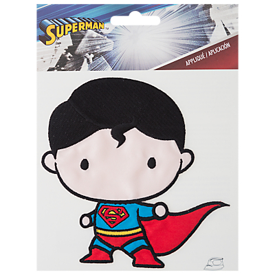 Image of Simplicity DC Comics Superman Iron On Patch, Blue