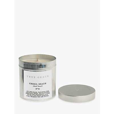 True Grace Chesil Beach Tin Scented Candle