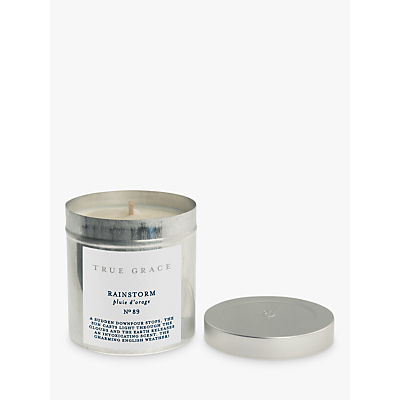 True Grace Rainstorm Tin Scented Candle