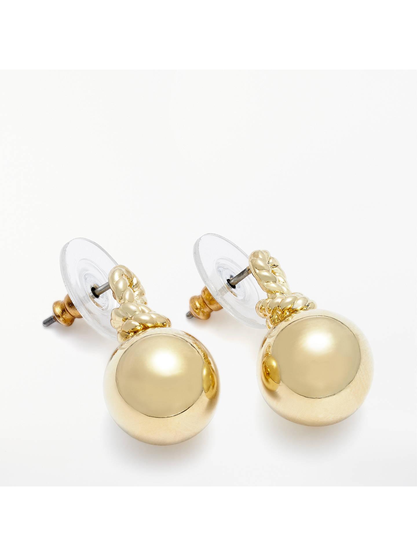 8884d59877731 kate spade new york Mini Ball Drop Earrings, Gold