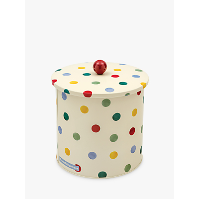 Emma Bridgewater Polka Dot Biscuit Barrel, Multi