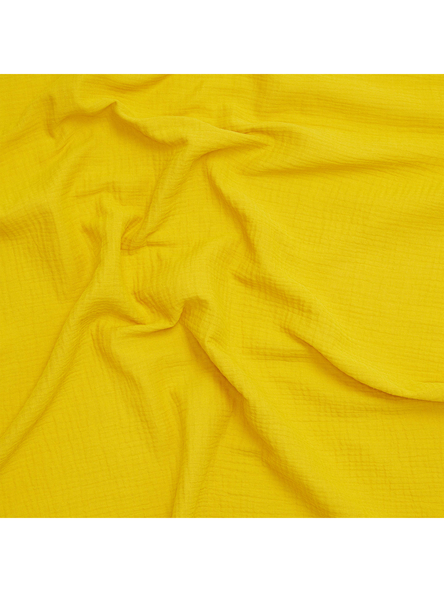 Buy Oddies Textiles Swaddle Fabric, Yellow Online at johnlewis.com