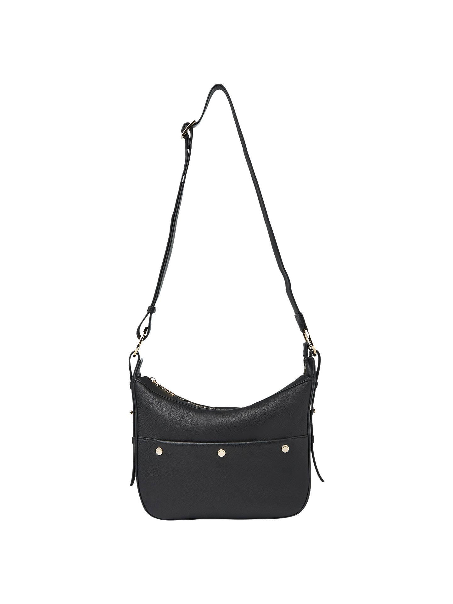 636adb9a8925 BuyWhistles Arlo Leather Triple Stud Shoulder Bag