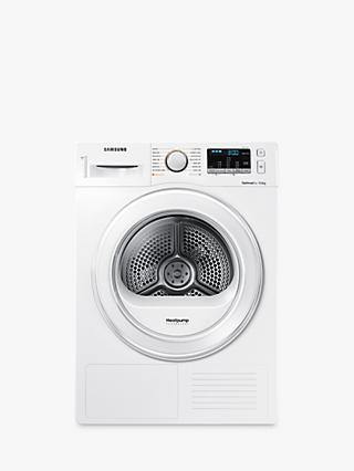 Samsung DV90M5000IW/EU Condenser Tumble Dryer with Heat Pump, 9kg Load, A++ Energy Rating, White