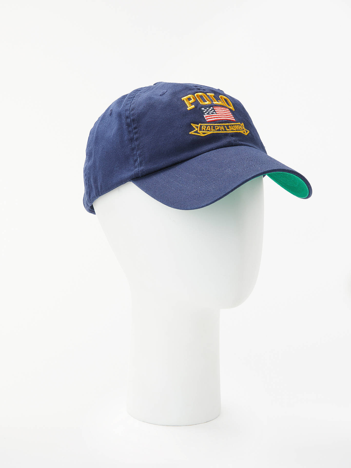 BuyPolo Ralph Lauren Classic Sport Baseball Cap, One Size, Navy Online at johnlewis.com
