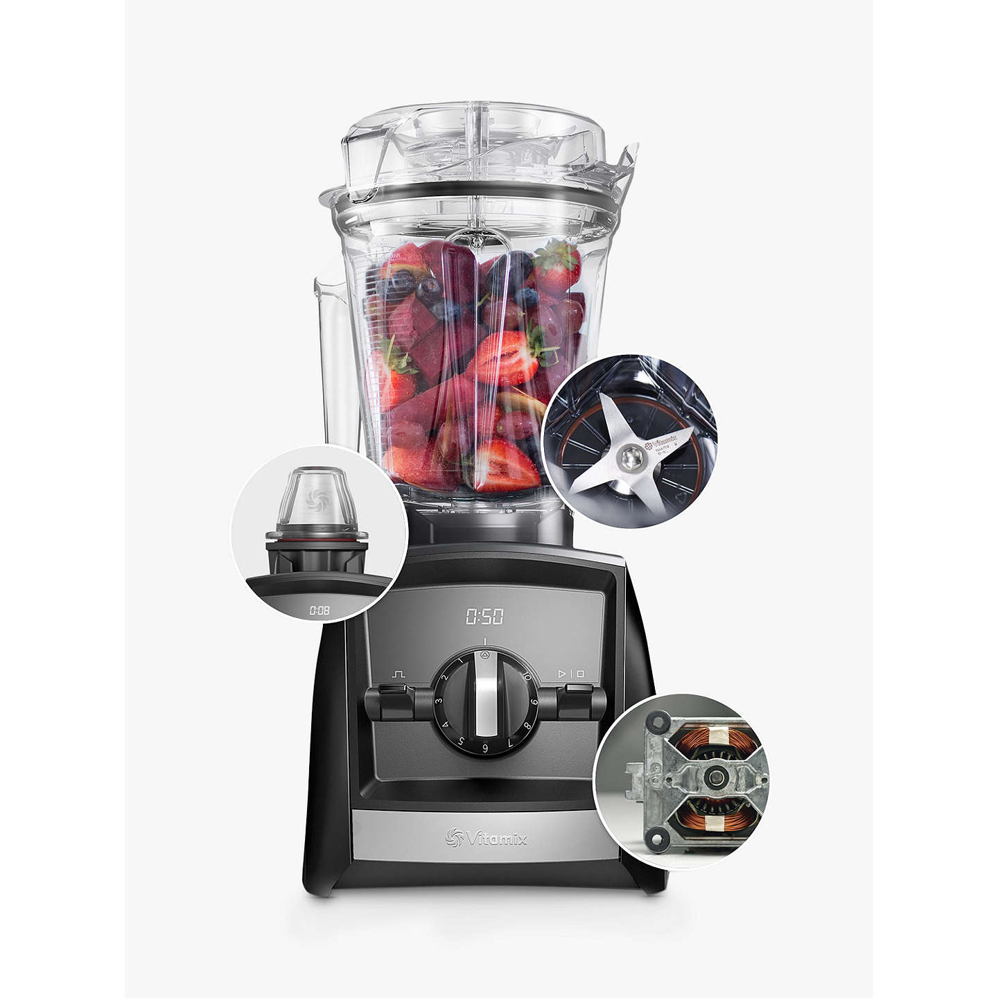 BuyVitamix® A2300i Ascent Series Blender, White Online at johnlewis.com