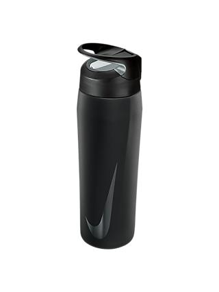 Nike 709ml Stainless Steel Waterbottle, Black/Anthracite/White