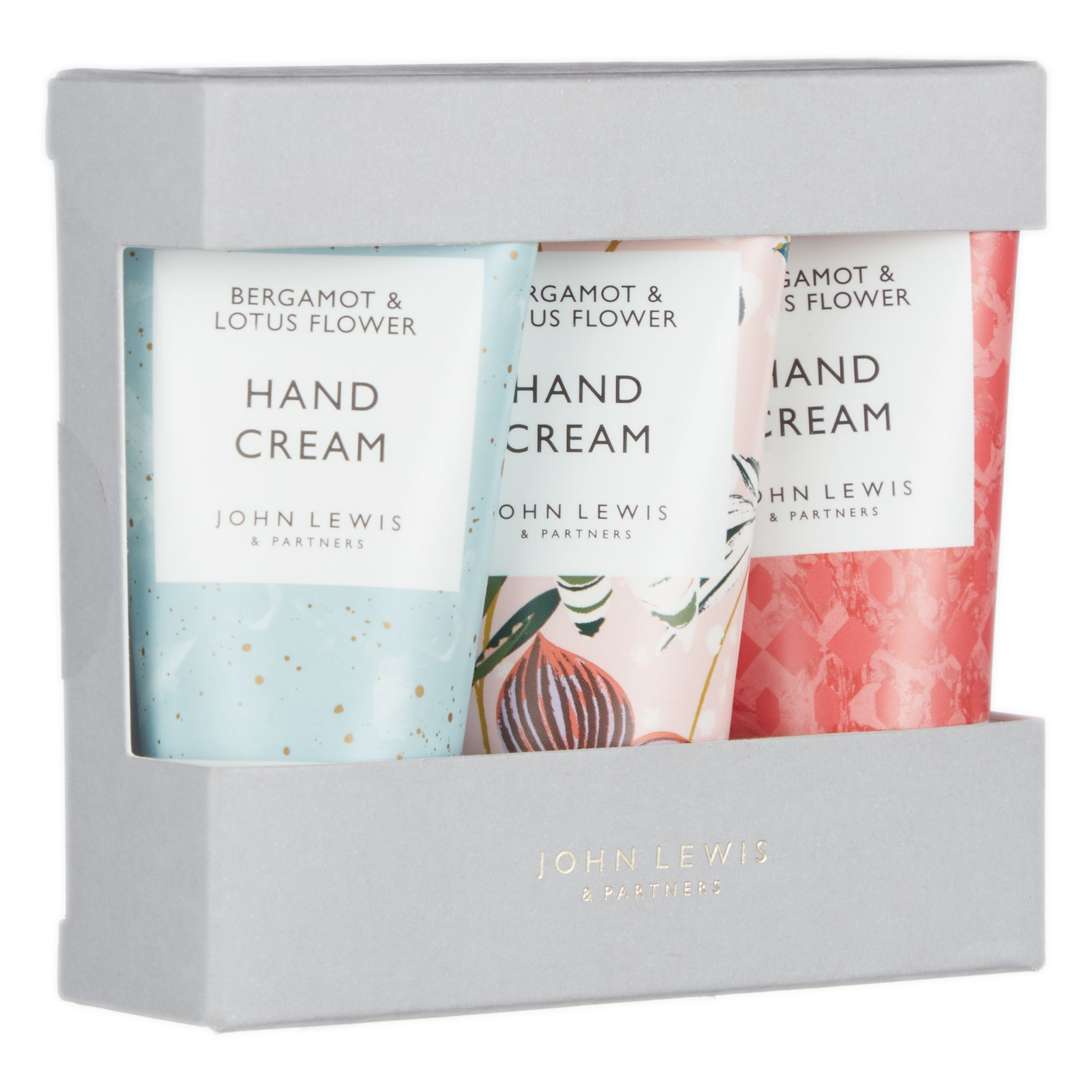 John Lewis & Partners Hand Cream, Set of 3