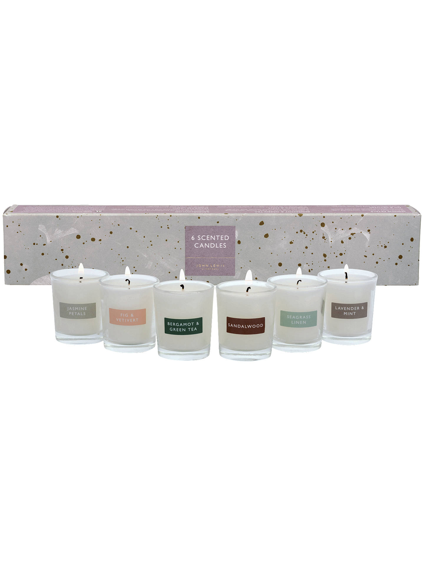 afc509ef4ed9 Buy John Lewis & Partners Mini Scented Candle Gift Set Online at johnlewis.  ...