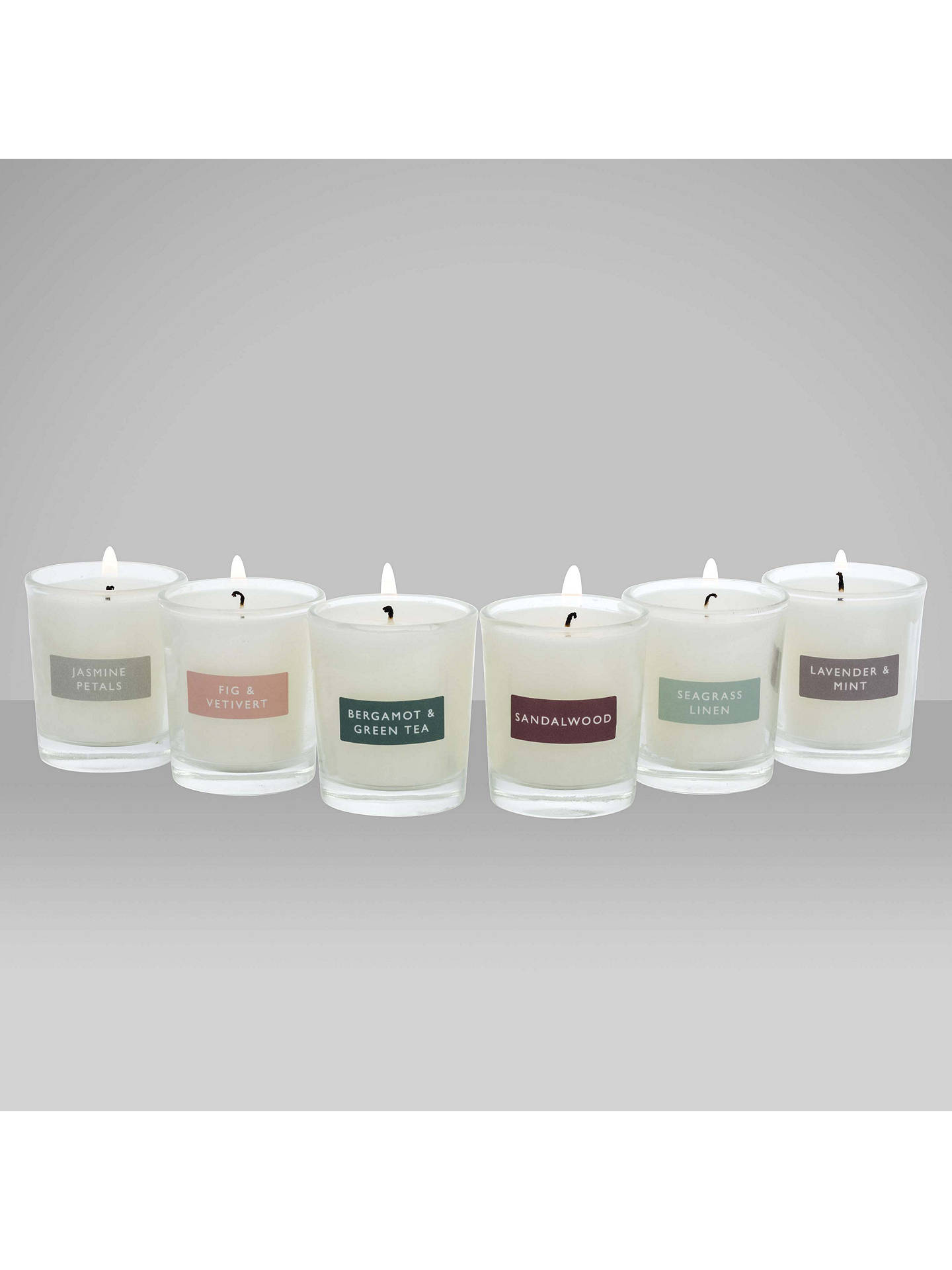 BuyJohn Lewis & Partners Mini Candle Gift Set Online at johnlewis.com