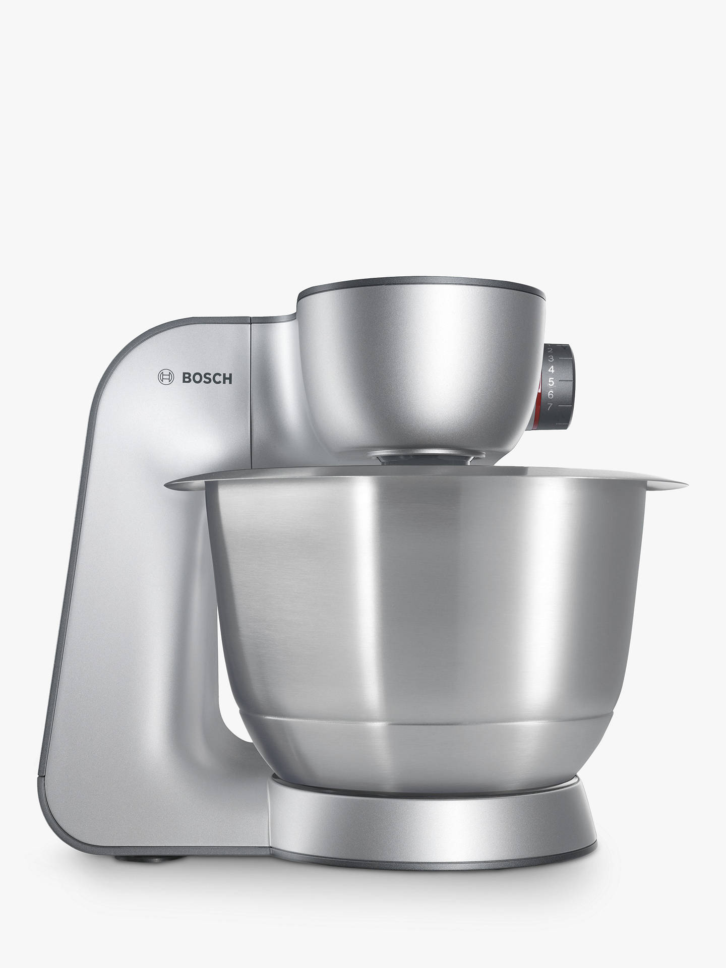 Bosch Mum59340gb Kitchen Machine Food Mixer Silver