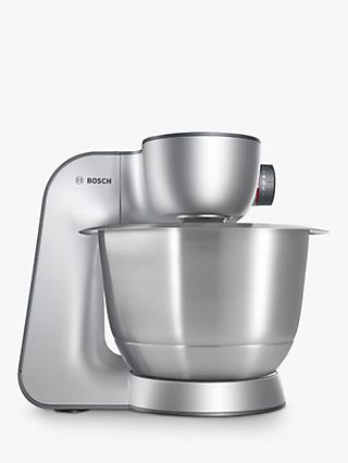 Bosch MUM59340GB Kitchen Machine Food Mixer, Silver