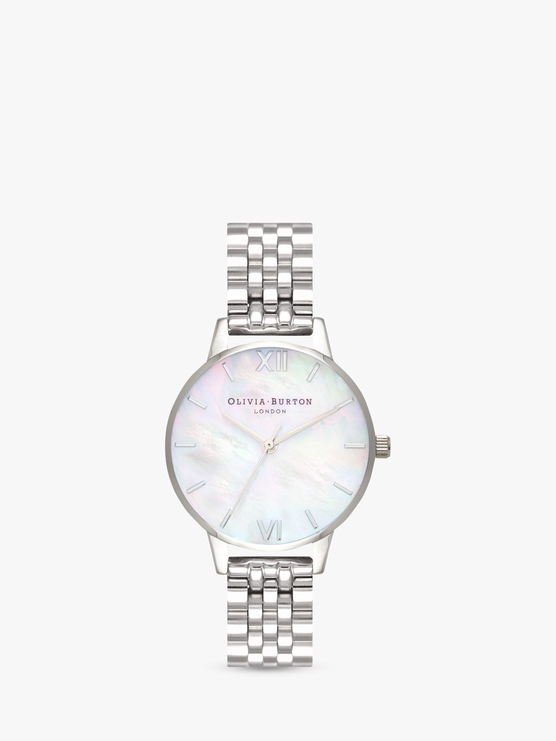 Olivia Burton Olivia Burton Women's Mother of Pearl Dial Bracelet Strap Watch