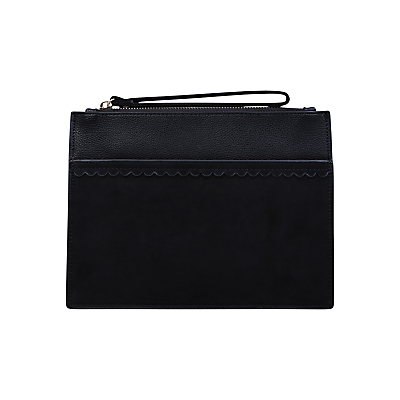 Miss KG Harli Zip Top Purse, Black