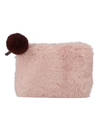 John Lewis Faux Fur Coin Purse