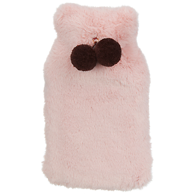 John Lewis & Partners Hot Water Bottle, Rose Quartz