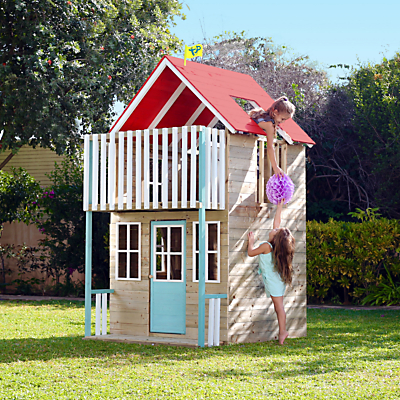 TP Toys Weymouth 2 Storey Wooden Playhouse