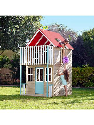 TP Toys Weymouth 2-Storey Wooden Playhouse