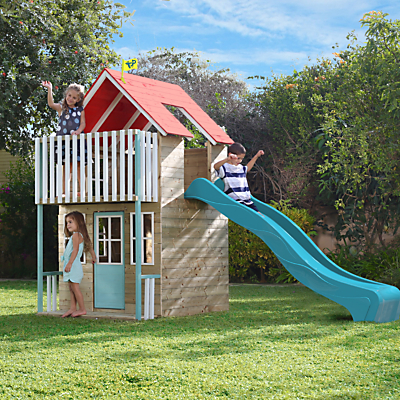TP Toys Padstow Playhouse & Slide Set
