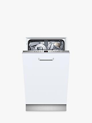 Neff S583C50X0G Integrated Slimline Dishwasher