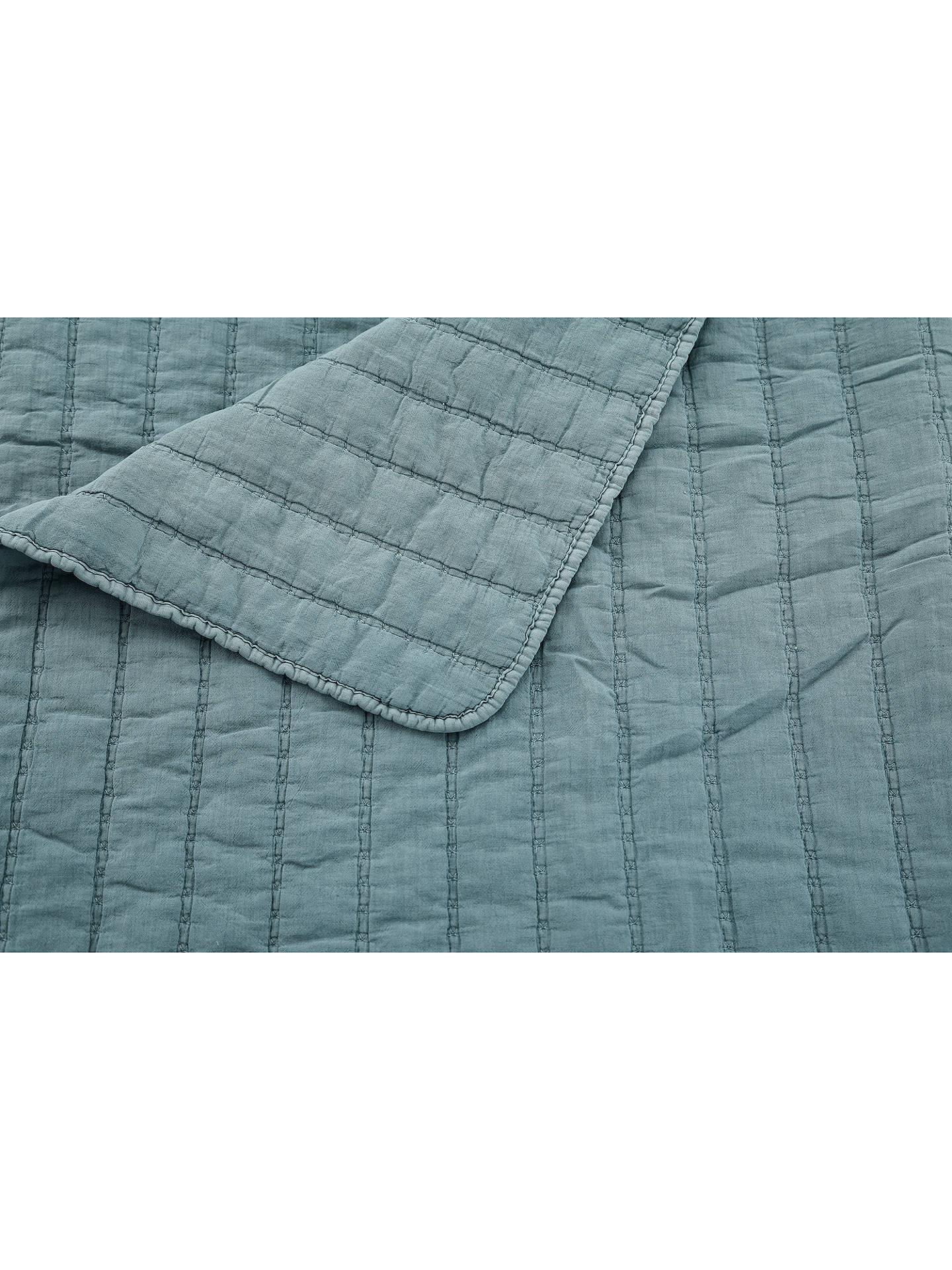 Buy bluebellgray Relaxed Wash Quilt, Pacific Online at johnlewis.com