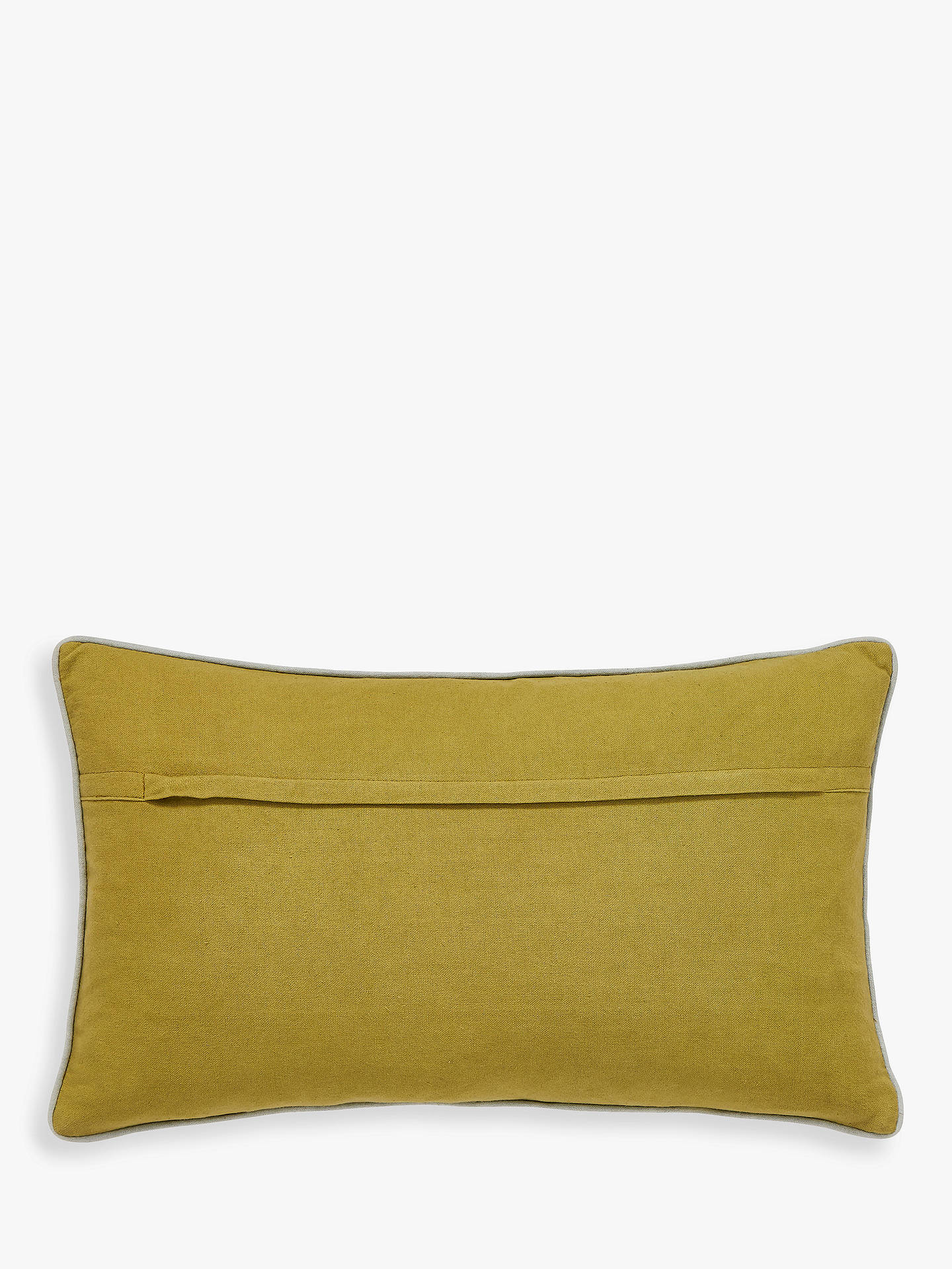 Buy Scion Pajaro Cushion, Grey / Saffron Online at johnlewis.com