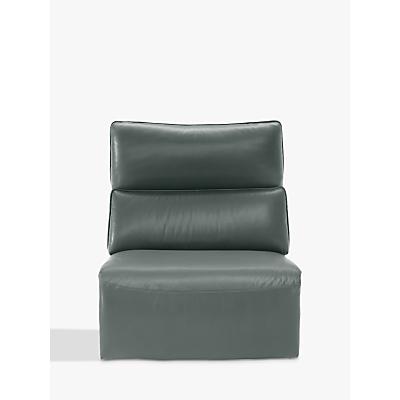 Natuzzi Stupore 001 Modular Armless Leather Armchair