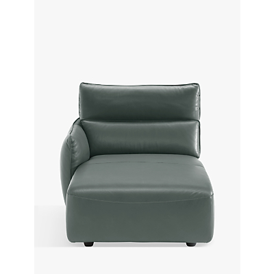 Natuzzi Stupore 047 LHF Leather Chaise Longue Modular Unit