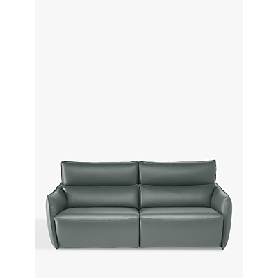 Natuzzi Stupore 446 Leather Small 2 Seater Sofa with Power Motion