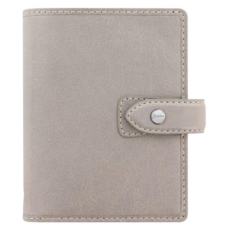 Filofax Filofax Pocket Personal Organiser Malden, Stone