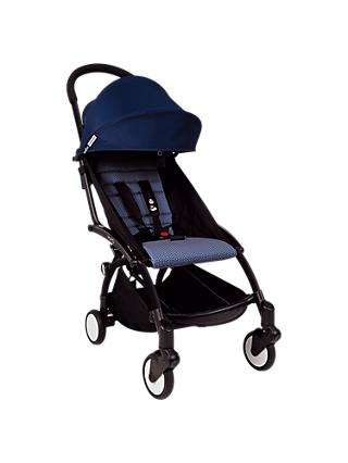 BABYZEN YOYO+ Pushchair, Air France Blue/Black