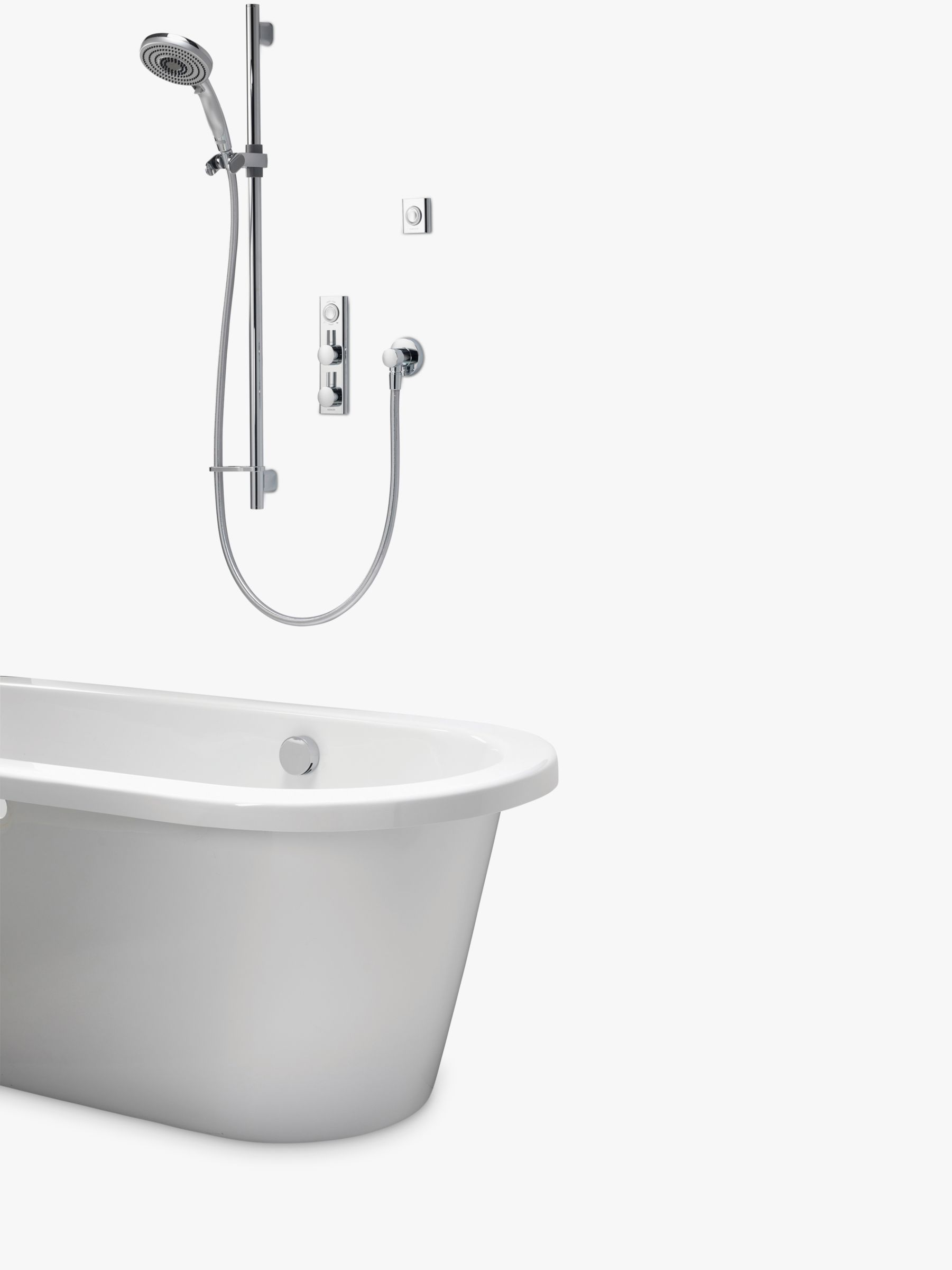 Aqualisa Aqualisa HiQu 5 Smart Shower with Handset, Silver