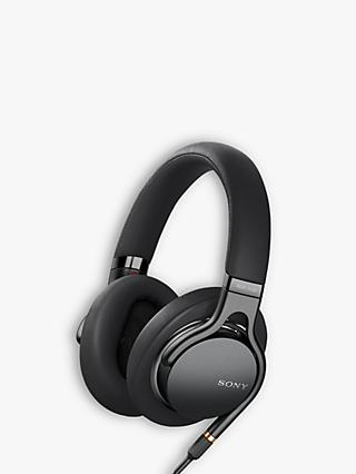 Sony MDR-1AM2 Over-Ear Headphones with Mic/Remote, Black