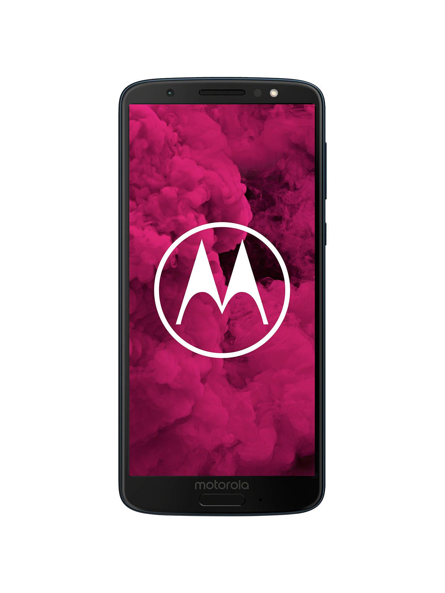Motorola g6 Dual SIM Smartphone, Android, 5 7