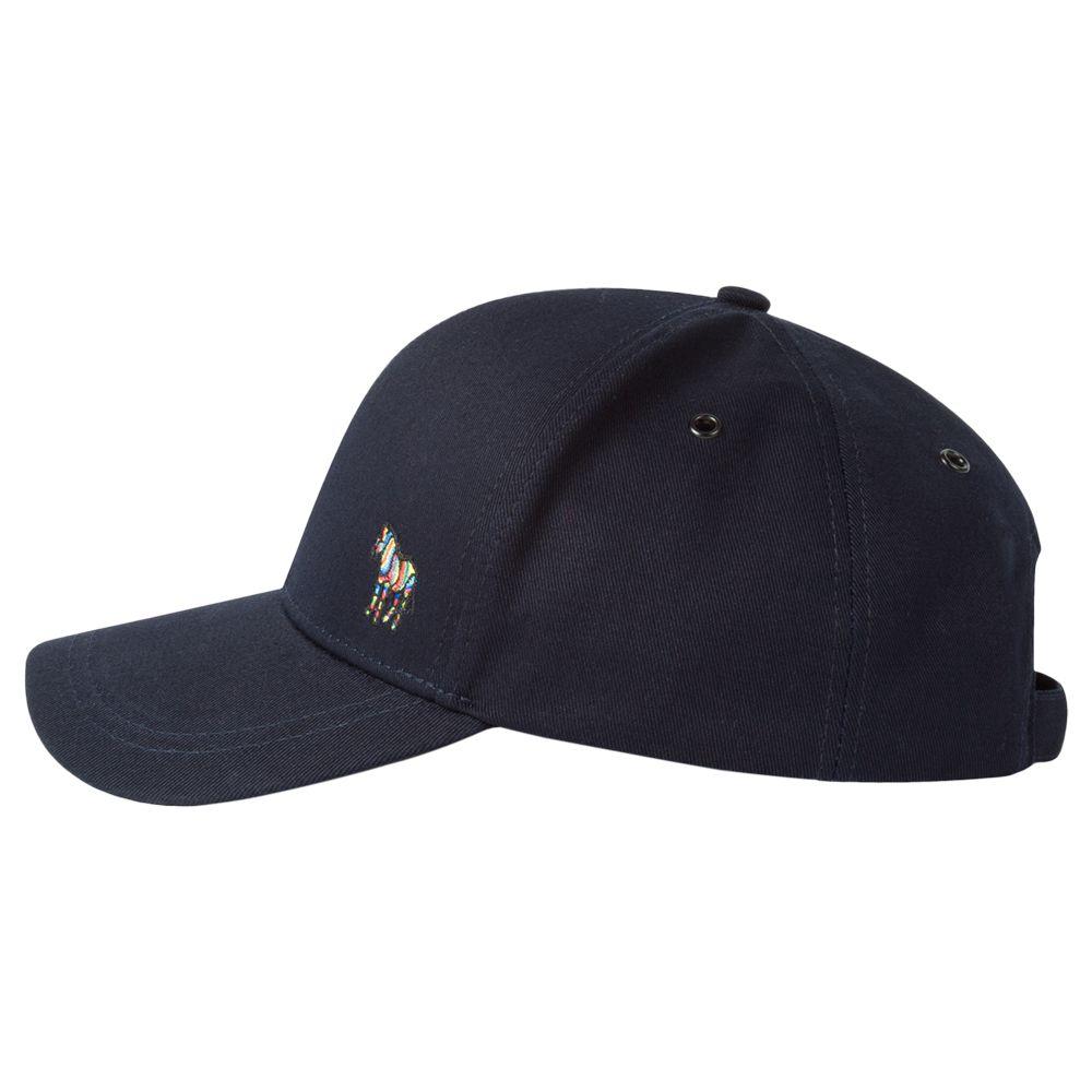 aa45e4115d29ea Paul Smith Zebra Baseball Cap, One Size, Navy at John Lewis & Partners